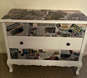 'Memories from Home' Dresser Redo
